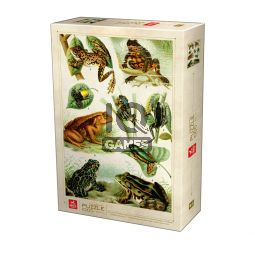 Encyclopedia Puzzle - Frogs - 1000 piese