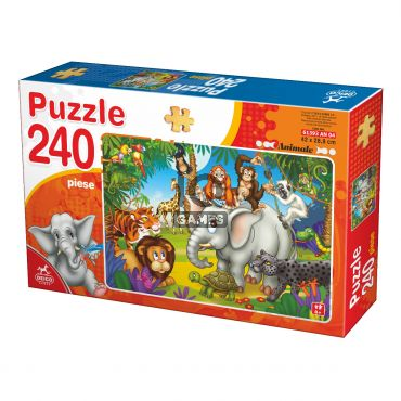 Puzzle - Animale - 240 Piese - 4