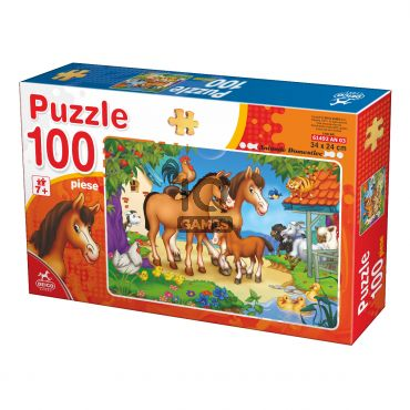Puzzle - Animale - 100 Piese - 3