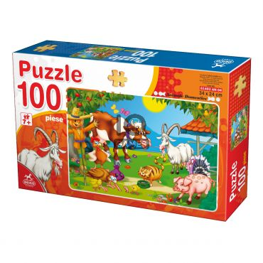 Puzzle - Animale - 100 Piese - 4