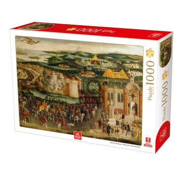 Puzzle Royal Collection - Field of the Cloth of Gold - 1000 Piese